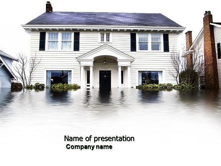 Flood PowerPoint Template