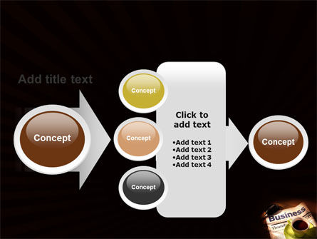Business Newspaper With Cup Of Coffee PowerPoint Template Slide 17