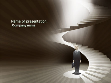 Career Promotion PowerPoint Template, 04005, Careers/Industry — PoweredTemplate.com