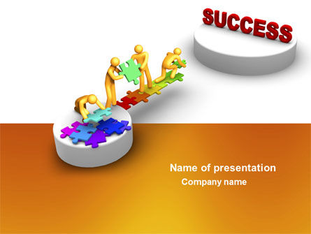 Bridge To Success PowerPoint Template