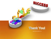 Bridge To Success PowerPoint Template#20