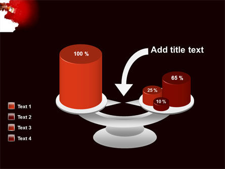 Red Paint PowerPoint Template Slide 10