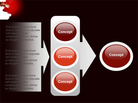 Red Paint PowerPoint Template Slide 11