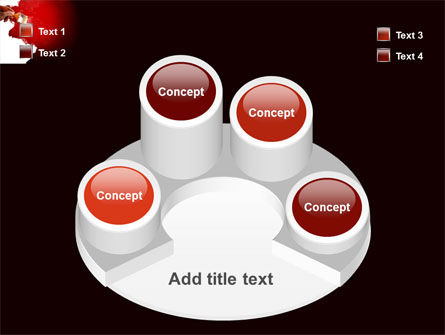 Red Paint PowerPoint Template Slide 12