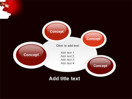 Red Paint PowerPoint Template Slide 16
