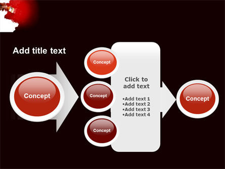 Red Paint PowerPoint Template Slide 17