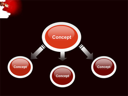 Red Paint PowerPoint Template Slide 4