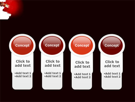 Red Paint PowerPoint Template Slide 5