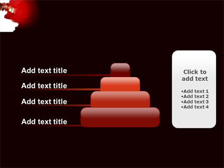 Red Paint PowerPoint Template Slide 8