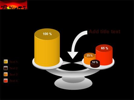 Savanna Sundown PowerPoint Template Slide 10