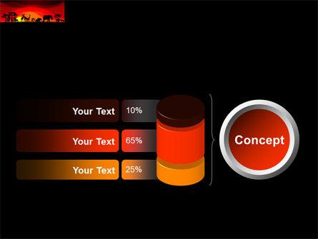 Savanna Sundown PowerPoint Template Slide 11