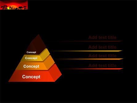 Savanna Sundown PowerPoint Template Slide 12