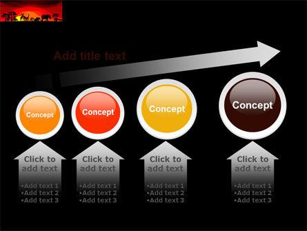 Savanna Sundown PowerPoint Template Slide 13