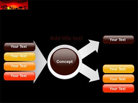 Savanna Sundown PowerPoint Template Slide 14