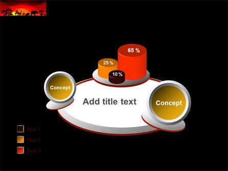 Savanna Sundown PowerPoint Template Slide 16