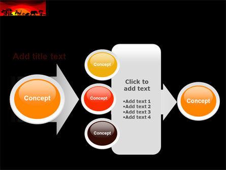Savanna Sundown PowerPoint Template Slide 17