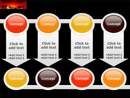 Savanna Sundown PowerPoint Template Slide 18