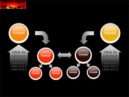 Savanna Sundown PowerPoint Template Slide 19