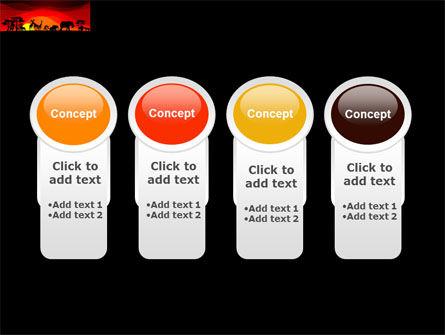 Savanna Sundown PowerPoint Template Slide 5
