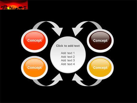Savanna Sundown PowerPoint Template Slide 6