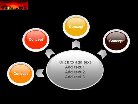 Savanna Sundown PowerPoint Template Slide 7