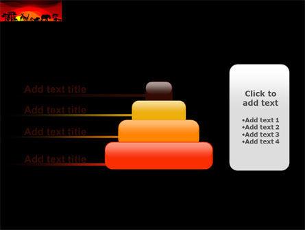 Savanna Sundown PowerPoint Template Slide 8