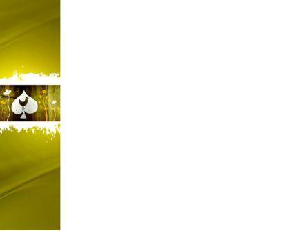Bird in Woods Free PowerPoint Template, Slide 3, 04015, Abstract/Textures — PoweredTemplate.com