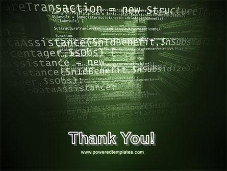 Program Code PowerPoint Template Slide 20