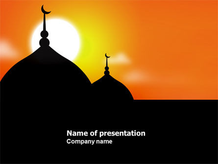 Mosques PowerPoint Template
