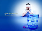Medical: Hangover PowerPoint Template #04020