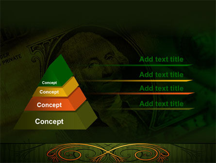 Dollar In Yellow PowerPoint Template Slide 12