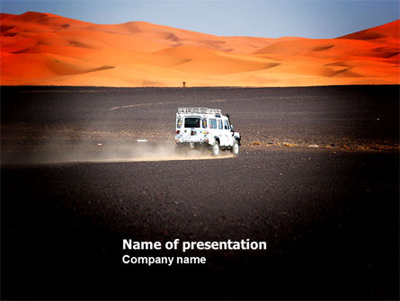 Nature & Environment: Extreme Expedition PowerPoint Template #04023