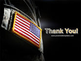 American Armed Forces PowerPoint Template#20