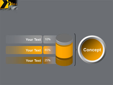 Road Reflector PowerPoint Template Slide 11