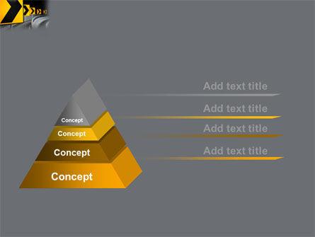 Road Reflector PowerPoint Template Slide 12
