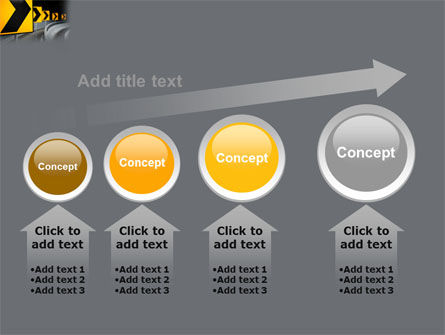 Road Reflector PowerPoint Template Slide 13