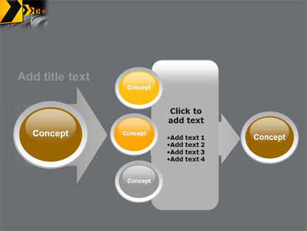Road Reflector PowerPoint Template Slide 17