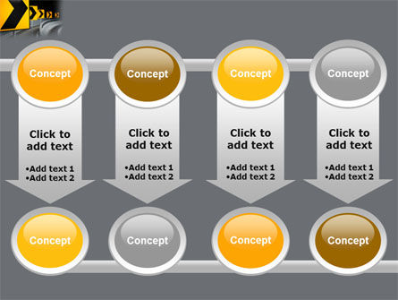 Road Reflector PowerPoint Template Slide 18