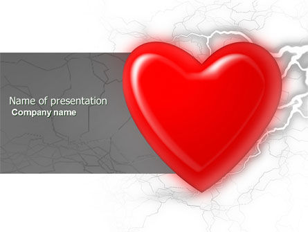 Romantic Emotion PowerPoint Template, 04033, Holiday/Special Occasion — PoweredTemplate.com