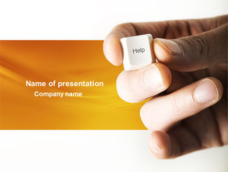 Consulting: Help Key PowerPoint Template #04037