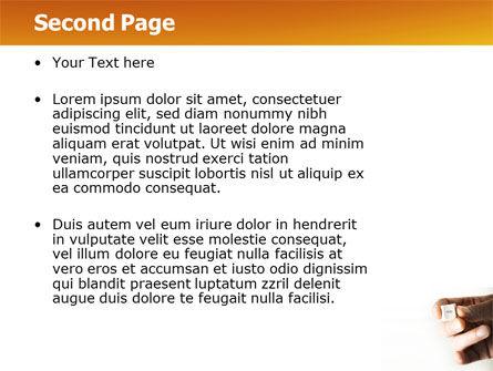 Help Key PowerPoint Template, Slide 2, 04037, Consulting — PoweredTemplate.com
