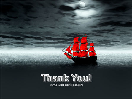 Scarlet Sails PowerPoint Template Slide 20