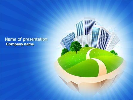 Housing Problem PowerPoint Template, 04039, Construction — PoweredTemplate.com