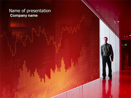 Economic Rates PowerPoint Template