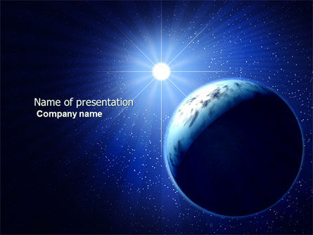 Luminary PowerPoint Template, 04043, Nature & Environment — PoweredTemplate.com
