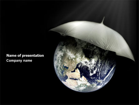 World Weather PowerPoint Template, 04046, Nature & Environment — PoweredTemplate.com