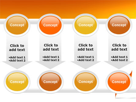 Feather In Orange Color PowerPoint Template Slide 18