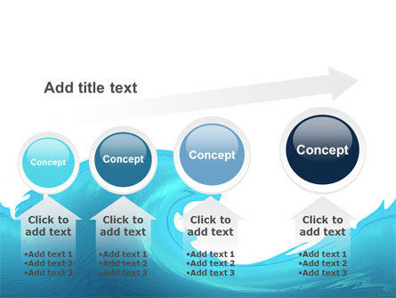 Wave PowerPoint Template Slide 13