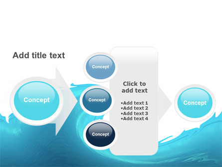 Wave PowerPoint Template Slide 17
