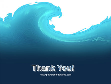 Wave PowerPoint Template Slide 20